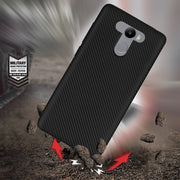 For Redmi 4 Case Luxury Shockproof Carbon Fiber Ultra Thin Soft TPU Phone Case For Redmi 4A Redmi 4X 4 Prime Slicone Back Cover