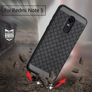 For Redmi Note 5 4X 5A Case Luxury Ultra Thin Soft TPU Back Cover Case For Redmi 5 Plus 5A 5 Pro Weave Leather Skin Soft Silicon