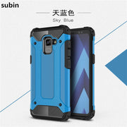 For Samsung Galaxy A8 Plus 2018 Case Cover Funda New Luxury Shockproof Bumper Protect A8 Plus 2018 Phone Case Back Cover Coque