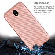 For Samsung Galaxy J5 2017 Case Luxury Shockproof Carbon Fiber Ultra Thin Soft TPU For J5 2016 J510 CASE Slicone Back Cover