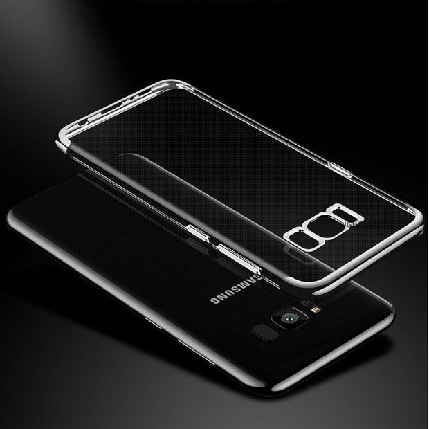 For Samsung Galaxy S8 Case Luxury Soft Laser Plating Phone Case For Samsung Galaxy Note 8 Note8 Cover For Samsung Galaxy S8 Plus
