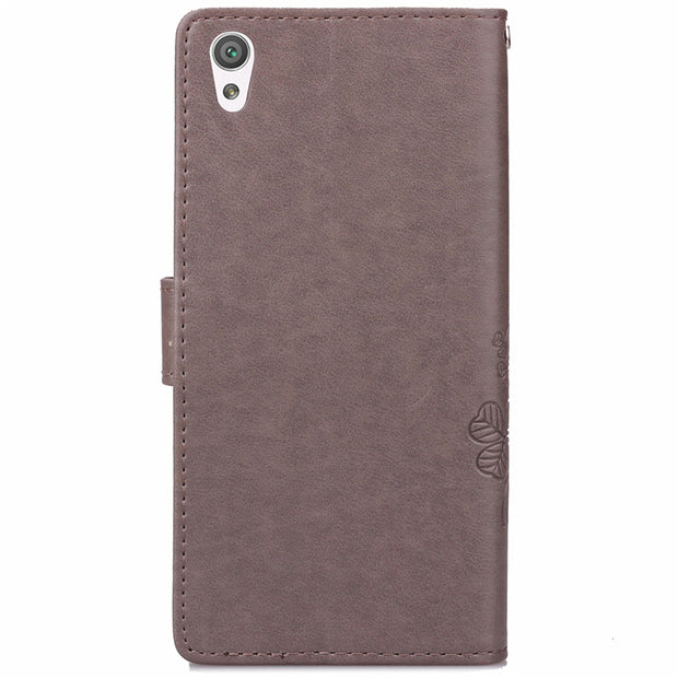 For Sony X F5121 Luxury Wallet Stand Flip Leather Case For Sony Xperia X F5121 / Dual F5122 Phone Case With Card Slot Holder