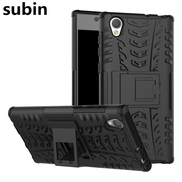 For Sony Xperia L1 Dual Case Hybrid TPU + PC Armor Hard Silicone Phone Bag Cover For Sony Xperia L1 G3311 G3312 G3313