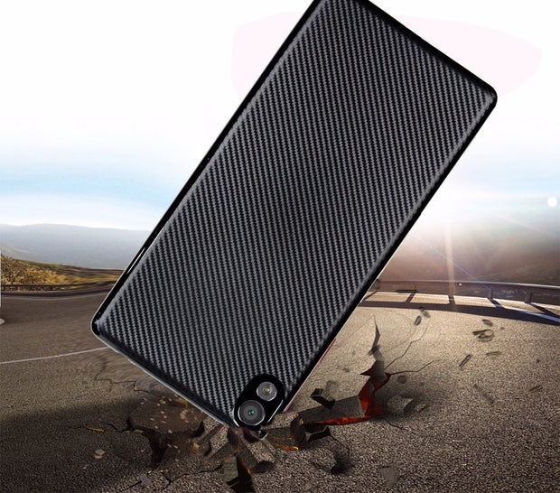 For Sony Xperia XA1 Plus Case Shockproof Carbon Fiber Ultra Thin Soft TPU Phone Case For Sony XA Ultra C6 Slicone Back Cover