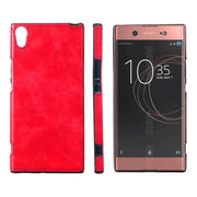 "For Sony Xperia XA1 Ultra 6.0"" Case Crazy Horse Silicone TPU+PU Leather Surface Soft Back Cover Case For Sony Xperia XA1 Ultra"