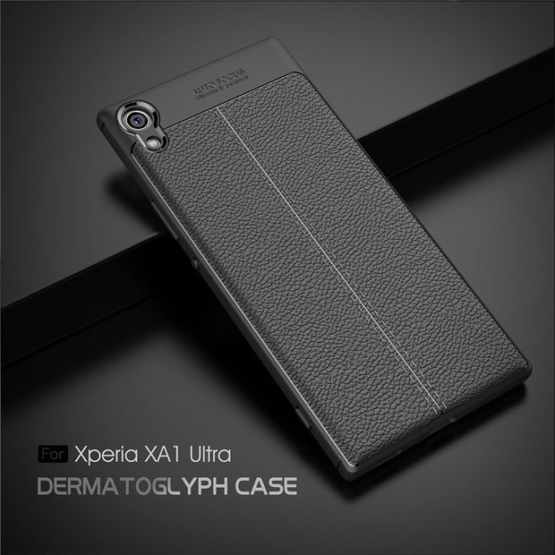 For Sony Xperia XA1 Ultra Case TPU Anti Slip ShockProof Soft Silicone Cases Phone Cover For Sony XA1 Ultra G3221 G3226 Case