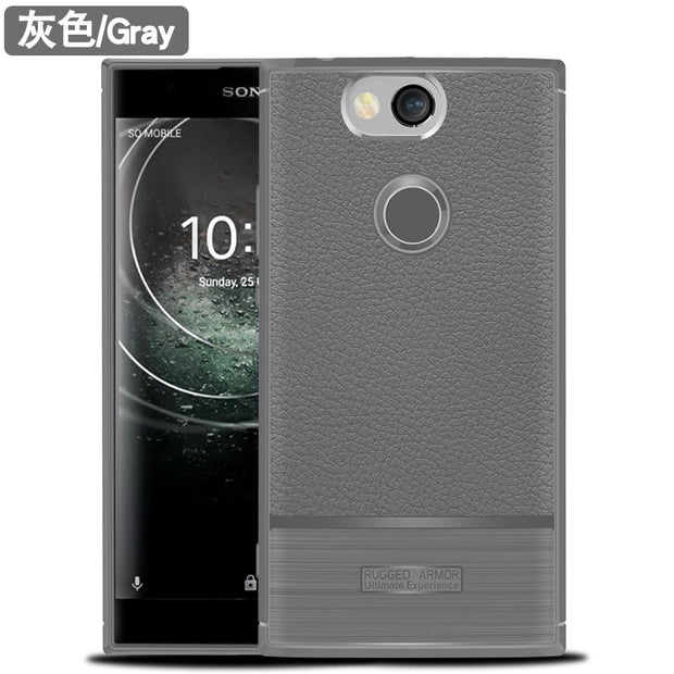 "For Sony Xperia XA2 Plus Case Shockproof Bumper Matte TPU Silicon Soft Cover For Sony Xperia XA2 Plus Dual 6.0"" Phone Cases"