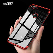 For Xiaomi Mi A1 Case Mi A1 Cover KOOSUK TPU Soft Plating Crystal Clear For Fundas Xiaomi Mi 5X Mi5X Case Silicone Phone Cases