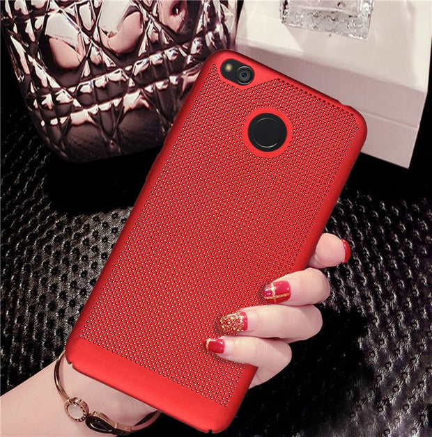 For Xiaomi Redmi 4 / 4A / 4 Pro 4S / 4X Case Ultra Slim Heat Dissipation Cases Hard PC Back Full Back Cover For Redmi 3S 3 Pro