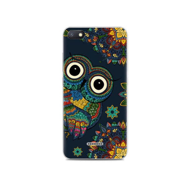 For Xiaomi Redmi 6A Case Cute Owl Cartoon Soft TPU Back Cover Xiomi Redmi 6A Case Silicone Phone Case For Xiaomi Redmi 6A A6 6 A