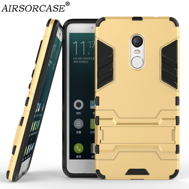 For Xiaomi Redmi Note 3 150mm Mobile Phone Cases Redmi Note 4 4X Case Redmi 4 4X Pro 4A 5A Cover Hard PC & TPU Hybrid Back Cover