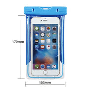 For ZTE Blade A510 GF3 X3 Waterproof Case Dry Mobile Phone Case Underwater Diving Camera Bag Pouch Cover For Vivo Xplay5 Elite 5