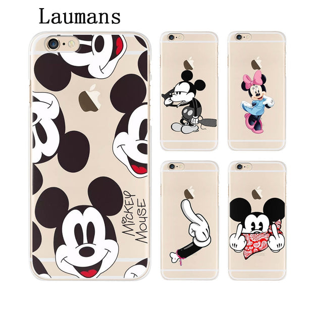 For coque iPhone 6S case 6 6S Mickey soft silicone TPU cover new arrivals original for 620x