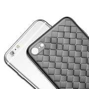 For IPhone 6s Case Luxury Grid Pattern Silicone Case For IPhone 6 6s Plus 6 Plus Fitted Cases Anti Knock Coque Cover Bags
