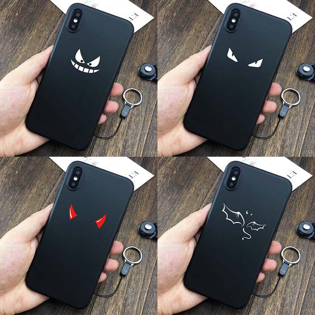 For Iphone X 7 8 Plus Case 3D Printing Fashion Lovely Cartoon Cover High  Quality Soft Silicon TPU For Huawei Phone 5S 6 6S Case