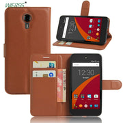 For Wileyfox Swift Luxury Wallet Flip Leather Case For Wileyfox Swift 5.0-inch Phone Leather Back Cover Case With Stand Etui>