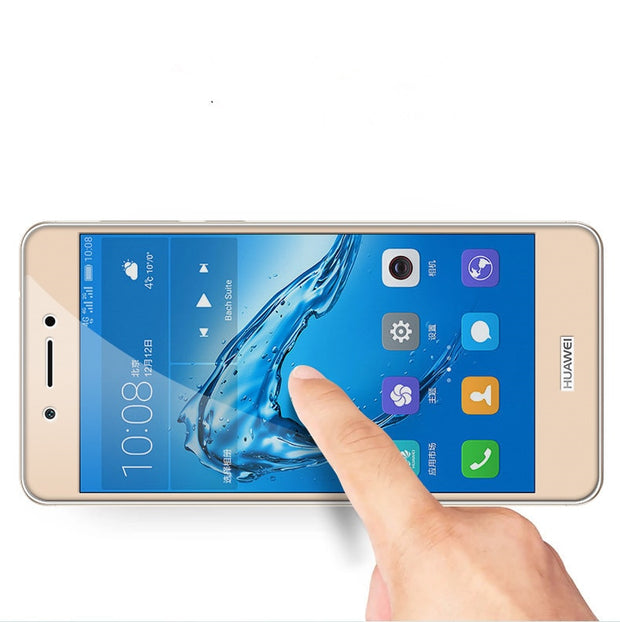 Full Coverage For Huawei Honor 6C/Honor 6C Pro Case Tempered Glass 9H Screen Protector Cover For Honor 6C/Honor 6C Pro