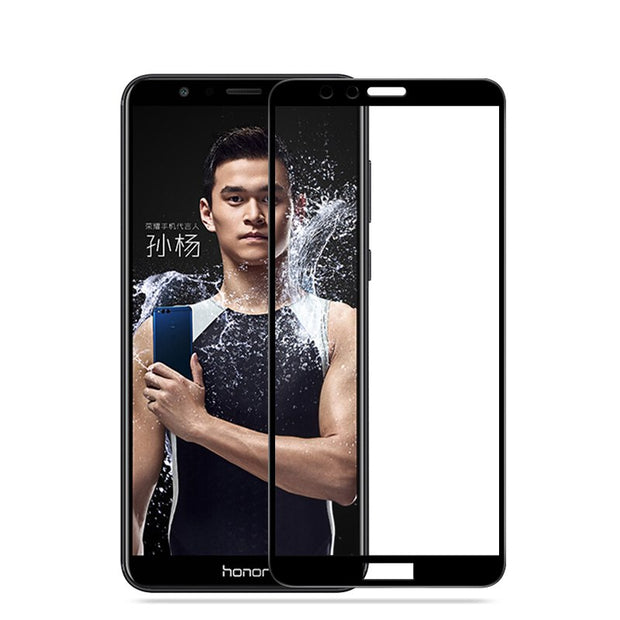 Full Coverage For Huawei Honor 7X Case Tempered Glass Film 9H UltraThin Premium Screen Protector Cover For Honor 7X