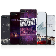 GOT7 KPOP Boy Group Tpu Soft Silicone Phone Case Cover Shell For Apple IPhone 5 5s Se 6 6s 7 8 Plus X XR XS MAX