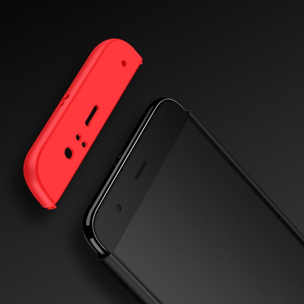 GerTong Case Fundas For Xiaomi Redmi 4X Note 5A Prime Y1 Lite Mi A1 Mi5X Mi6 Mi5S Mi5 Mix Max 2 Hard PC 360 Full Protect Cover