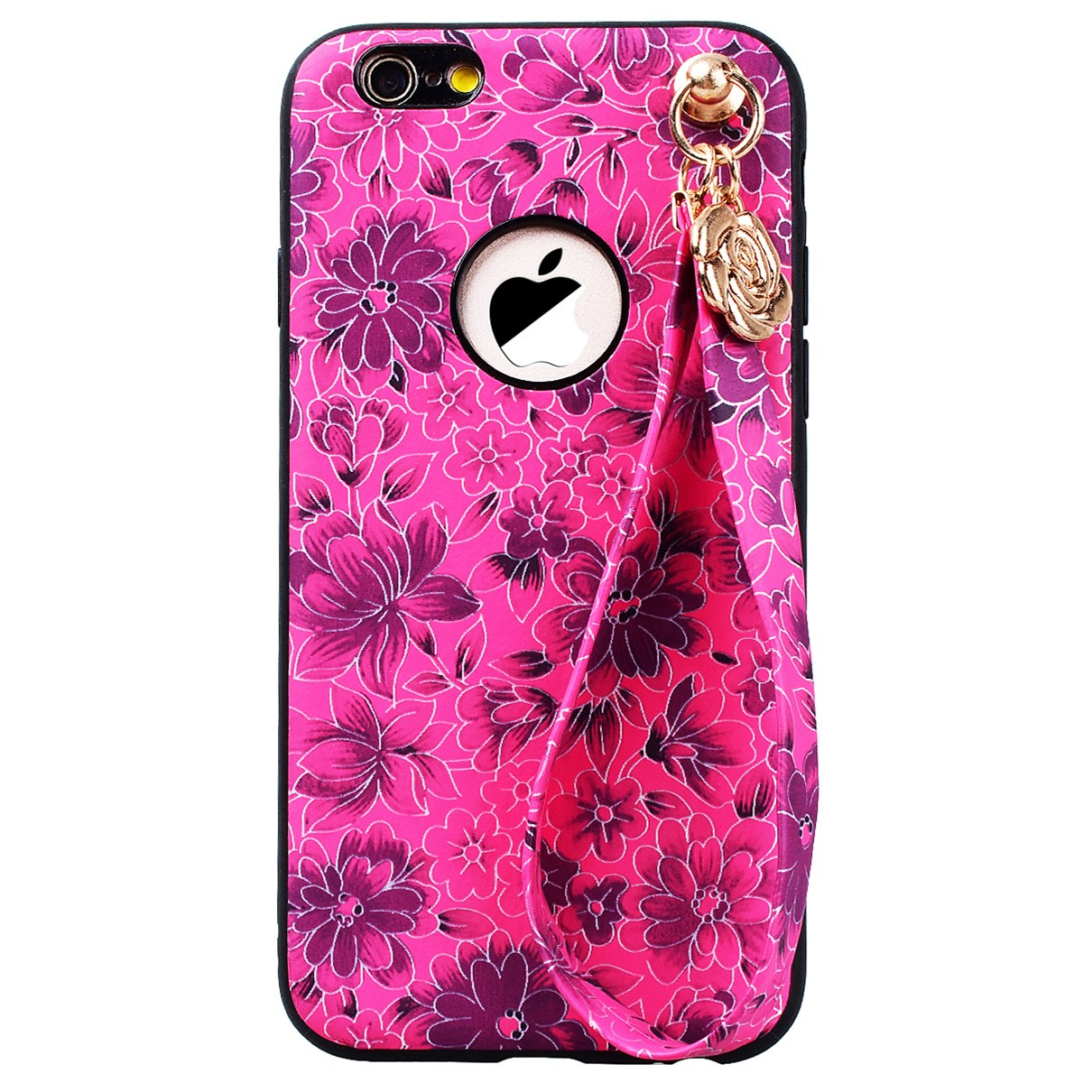 Grandever Floral Hard Phone Case For Iphone 6 6s Plus Case Pc With
