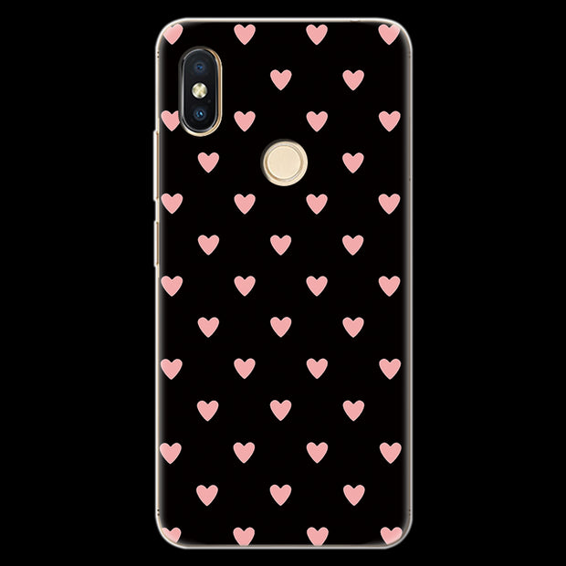 Heart Love Pattern Couple Gift For Fundas Xiaomi Redmi S2 Case Cover Silicone TPU Soft Luxury Accessories Full Protection Coque