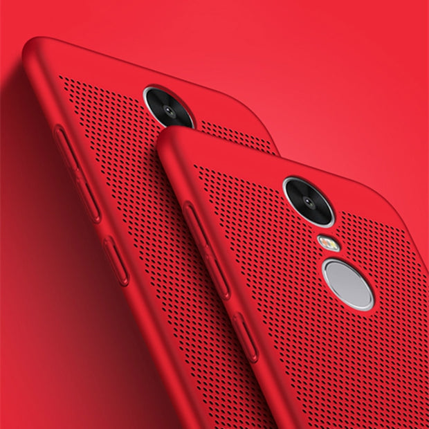 Heat Dissipation Cover Cases For Xiaomi Redmi Note 4x Case 3s Hard Back PC Full Cover For Xiaomi Redmi 4 4X 4 Pro Redmi 4A Case