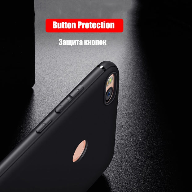 HereCase Cover For Xiaomi Mi Max 2 Case 360 Full Protection Soft Silicone Housing Slim Matte Design For Mi Max 2 Phone Cases Coq