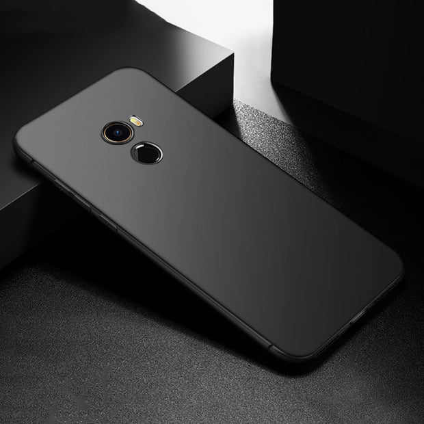 HereCase Cover For Xiaomi Mix 2 Case 360 Full Protection Soft Silicone Housing Slim Matte Design For Xiaomi Mix2 Phone Cases Coq