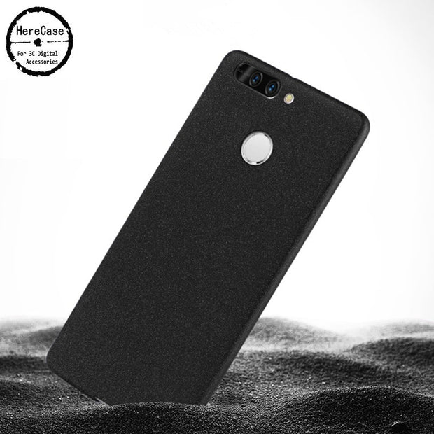 HereCase Ultra Thin Cover For Huawei Honor 9 Case Soft Silicone Simple PP Scrub Covers For Huawei Honor 8 Pro 5.7'' Phone Case