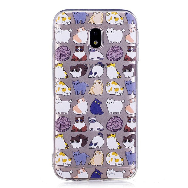 High Quality Soft TPU Phone Cases For Samsung J5 2017 J5 Pro J530 J530F Case For Samsung J5 2017 Transparent Soft Silicone Cover