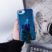 Hot Brand Fly Man Jordan Soft Silicon Cover Case For Iphone 6 6S S Plus 7 7plus 8 8plus X Junmp Fashion Phone Cases Coque