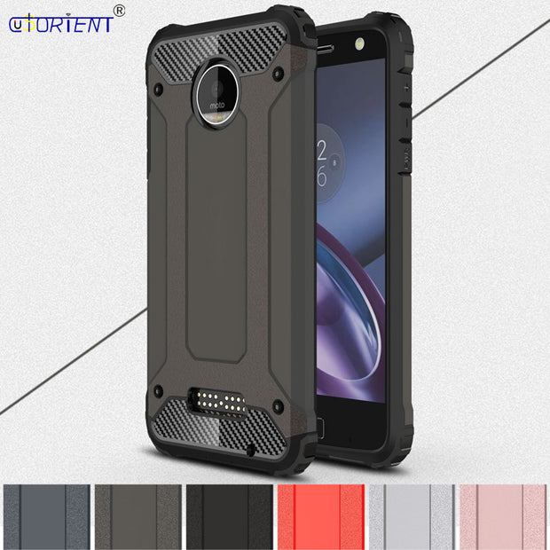 competitive price b937e 987a8 Hybrid Armor Case For Moto Z Force Case Cover For Moto Z Force XT1650-02  Bumper Funda For Motorola Moto Z Force Phone Shell Capa