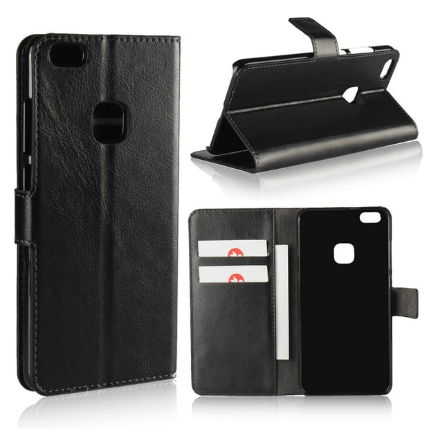 ICOQUE Case For Huawei P10 Lite Cover P10lite PU Leather Wallet Case For Coque Capas Huawei P10 Lite Fundas P10 Lite Stand Cover