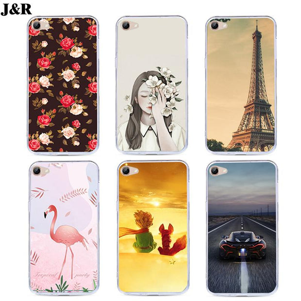 J&R Pattern Case For Vivo Y81 Y83 Pro Y11 Y15 Y13 Y18 Y19 Y21 Y22 Y28L Y29  Y3 Y31 Back Cover Silicone Soft TPU Cartoon Cases