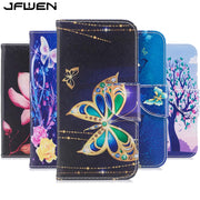 JFWEN For Iphone 7 8 6 6S Plus X XR XS Max Case Leather Flip Wallet For Coque Iphone X XS Max XR Case Cover Luxury Phone Cases