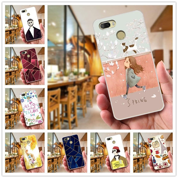 buy popular e05f1 ea2f6 K5Play For Lenovo K5 Play Case 5.7'' 3D Silicone Soft TPU Back Cover For  Lenovo K5 Play Case K 5 Play 2018 Cartoon Funda Coque