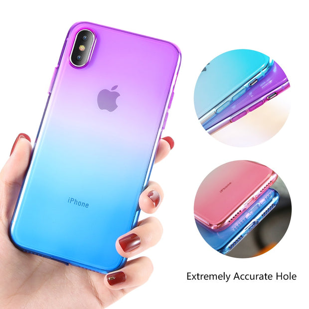 KISSCAS Phone Case For IPhone 7 6s 5s 8 IPhone XS Max Luxury Case For IPhone XS XR X 6s 7 8 Plus 5s Cover Silicone Accessories