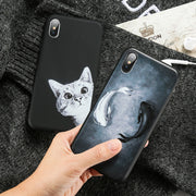 KISSCASE Case For Samsung Galaxy S9 S8 Plus S7 EdgeFashion Stars Space Phone Cute Animal Pattern Cover For Samsung Note 9 8 S9