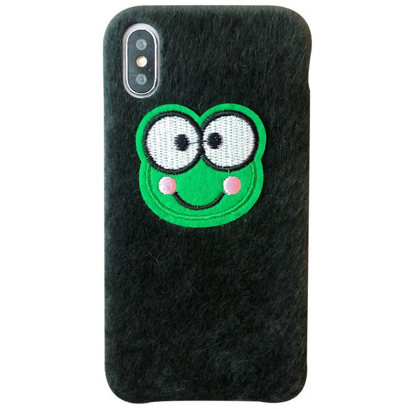 Previous. Kuutti Squishy Fashion Women Green Furry Fur DIY Frog Cloth  Winter Phone Cases ... 23d3b408ec