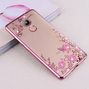 LERO TPU Cases For Huawei Honor 6C Pro 360 Protection Plating Soft Silicone Back Cover For Huawei Honor 6C Pro 5.2inch