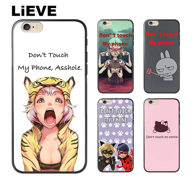 LIEVE Soft silicone TPU for coque iPhone 6s case 5 5S SE 6 6S 7 8 620x