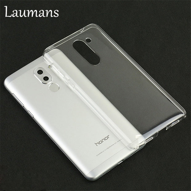 Laumans For Huawei Play 6X TPU Phone Case Ultra Thin Transparent Clear Soft Phone Cover Shell For Huawei Play 6X Back Cover