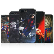 Lionel Messi Coque Tpu Soft Silicone Phone Case Cover Shell For Apple IPhone X 8Plus 8 7Plus 7 6SPlus 6s 6Plus 6 Se 5s 5