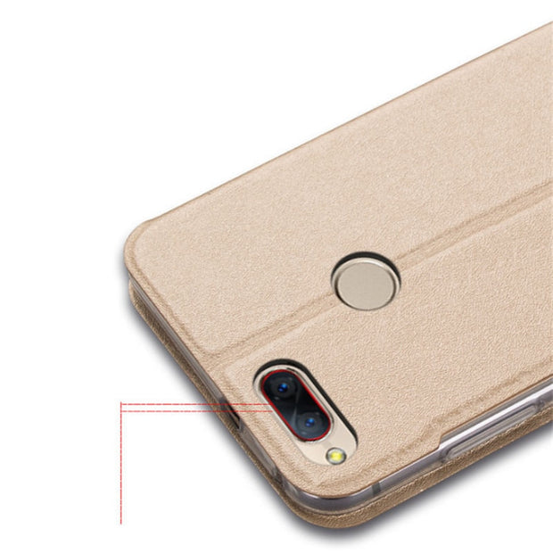 Luxury Leather Case For ZTE Nubia Z17 Mini Phone With Window View High Quality Protector Flip Case Protective Accessories