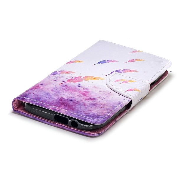 Luxury Leather Flip Case For HTC U 11 Case PU Card Pocket Beautiful For HTC One M8 M9 M 10 Fundas Capa Accessories