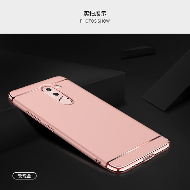 Luxury Metal Plating Frame Hard Protective Case For Huawei Honor 6A 6a Enjoy 6A 5.0 Inch Phone Case Cover Capa Para Coque
