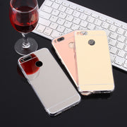 Luxury Mirror Soft TPU Case For Xiaomi Mi5X Mi 5X Mi A1 Mi6 Ultra Thin Cover Case For Xiaomi Redmi 5A 4X 4A Note 4X 5A Pro Cases