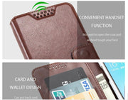 Luxury PU Leather Case Wallet Magnetic Cover Flip With Card Holders Cases For Ginzzu S5230 S4020 S4030 S5040 Mobile Phone Cover