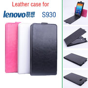Luxury Retro Leather Case For Lenovo S930 Flip Vintage Phone Cases For Lenovo S930 Protective Cover
